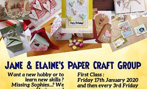 Jane and Elaines Paper Craft Group